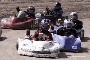 Slippery Rock Raceway action